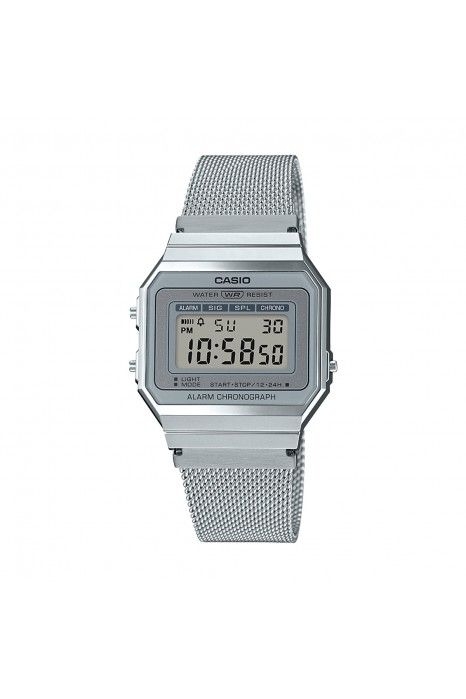 79cc9dd8543e Relógio CASIO CC Retro Prateado - LTP-E156M-7AEF