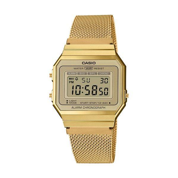 Relógio CASIO Vintage Edgy Dourado A700WEMG-9AEF