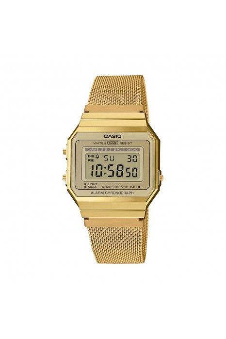 Relógio CASIO Vintage Edgy Dourado