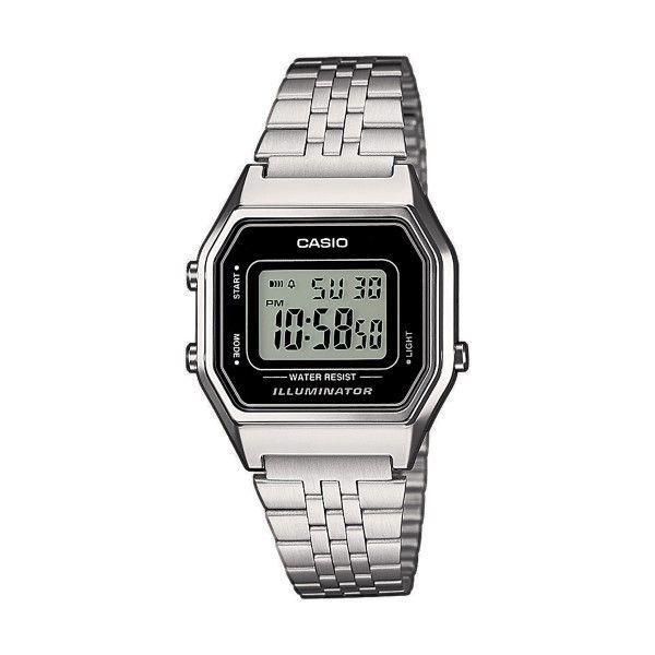 Relógio CASIO Vintage Iconic Prateado LA680WEA-1EF