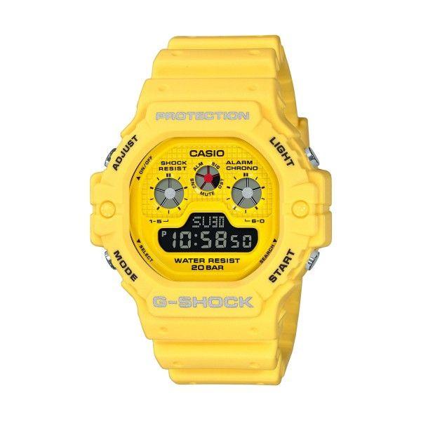 Relógio CASIO G-SHOCK Classic Amarelo DW-5900RS-9ER