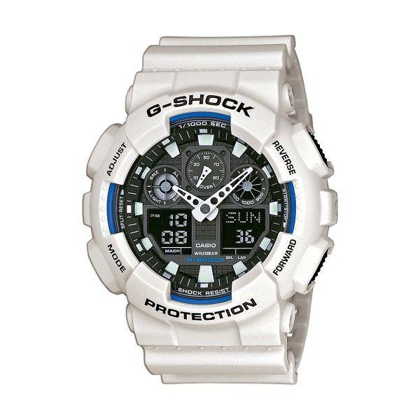 Relógio CASIO G-SHOCK Classic Branco GA-100B-7AER