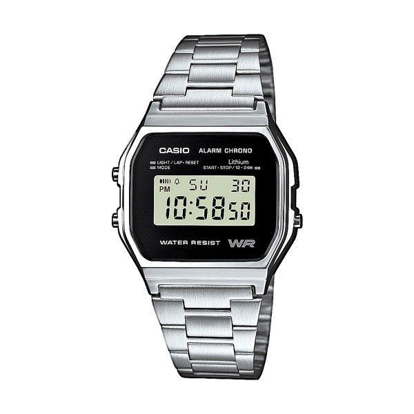 Relógio CASIO Vintage Iconic Prateado A158WEA-1EF
