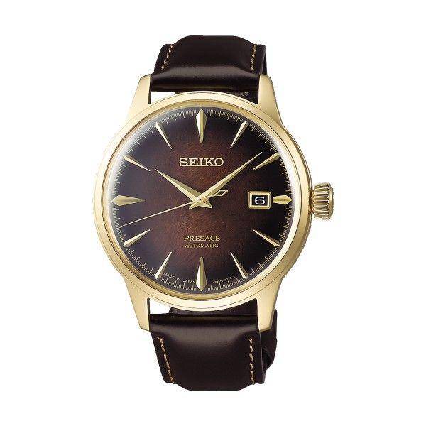 Relógio SEIKO Presage Castanho SRPD36J1
