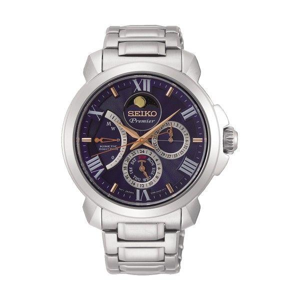 Relógio SEIKO Premier Prateado SRX017P1EST