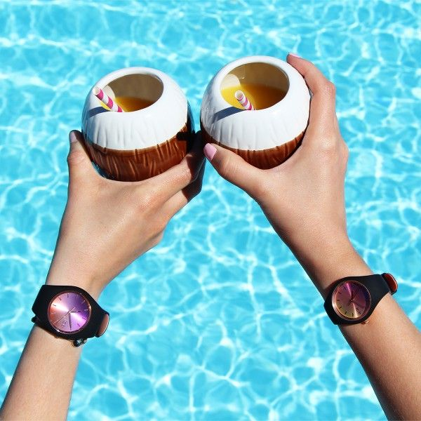 Relógio ICE Duo Chic Castanho IC016982