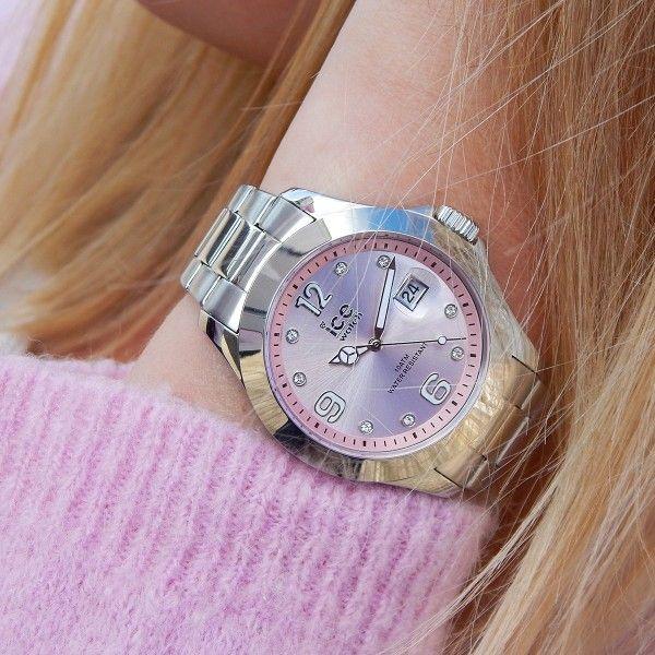 Relógio ICE Steel Prateado IC016776