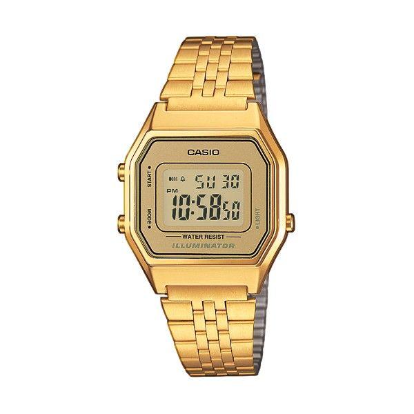 Relógio CASIO Vintage Iconic Dourado LA680WEGA-9ER
