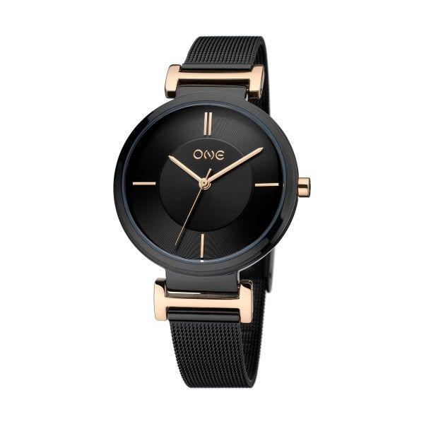 Relógio ONE Code Preto OL7981PP81L