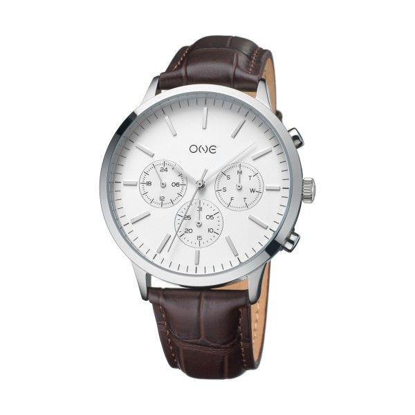 Relógio ONE Solidity Castanho OG7761BC91B