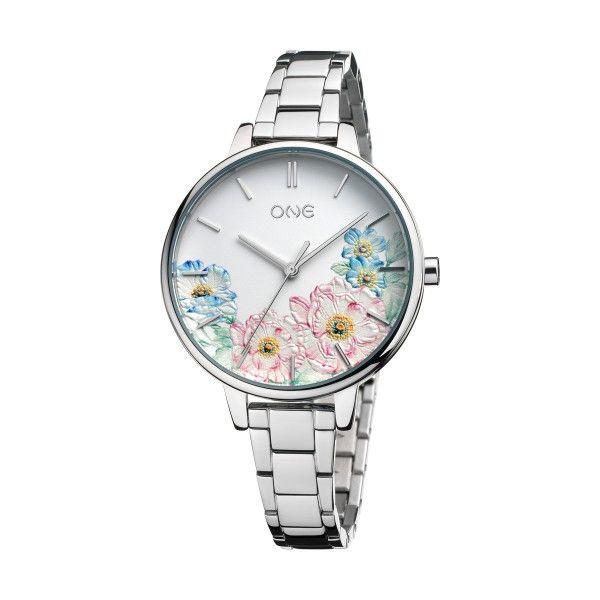 Relógio ONE Summer Blossom Prateado OL0076SS91W