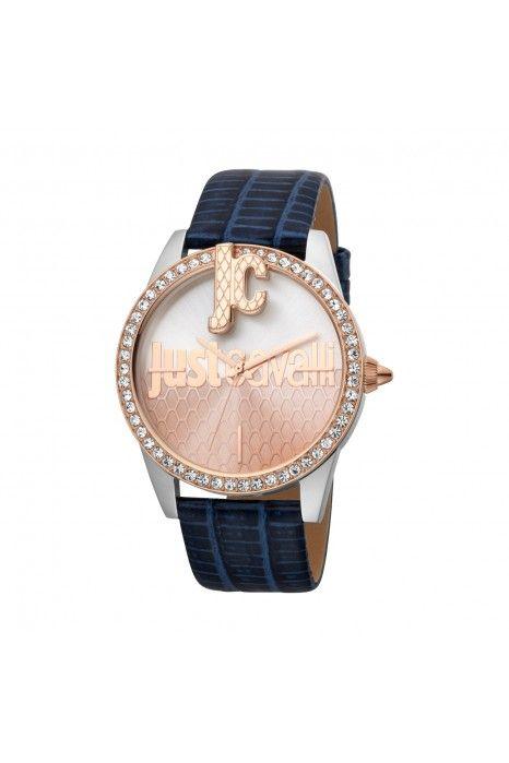 Relógio JUST CAVALLI TIME Logo XL Azul