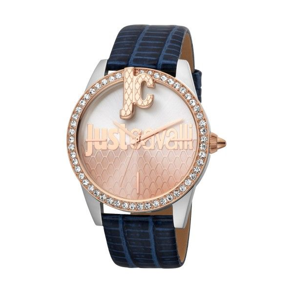 Relógio JUST CAVALLI TIME Logo XL Azul JC1L100L0055