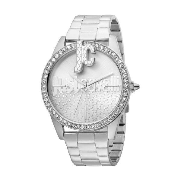 Relógio JUST CAVALLI TIME Logo XL Prateado JC1L100M0065