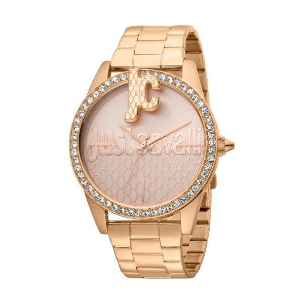Relógio JUST CAVALLI TIME Logo XL Ouro Rosa JC1L100M0095