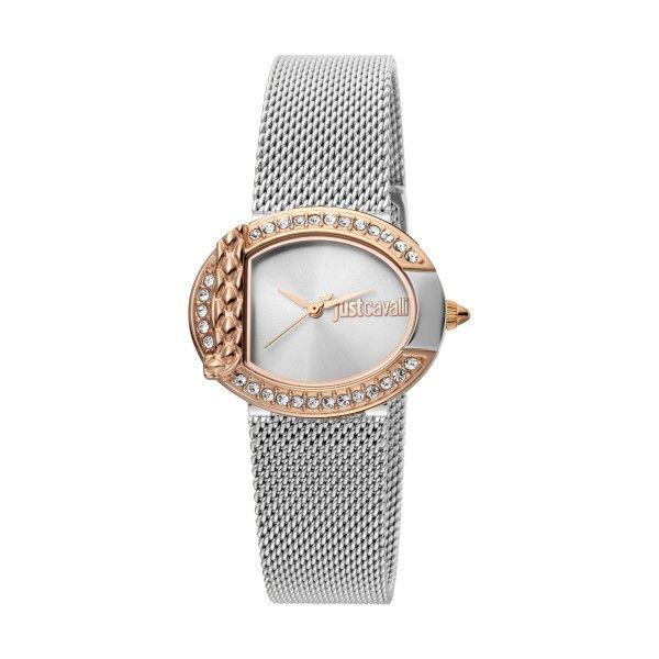 Relógio JUST CAVALLI TIME C By Jc Prateado JC1L110M0125