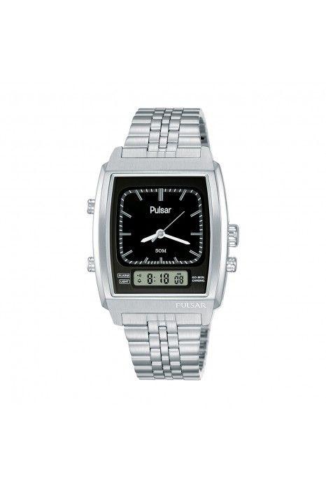 Relógio PULSAR Casual 40th Anniversary Prateado