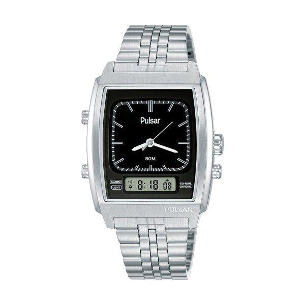 Relógio PULSAR Casual 40th Anniversary Prateado PBK035X2