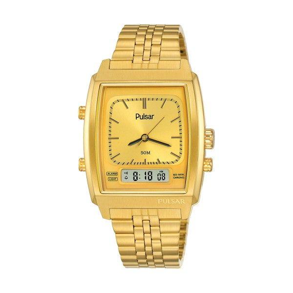 Relógio PULSAR Casual Dourado PBK036X2