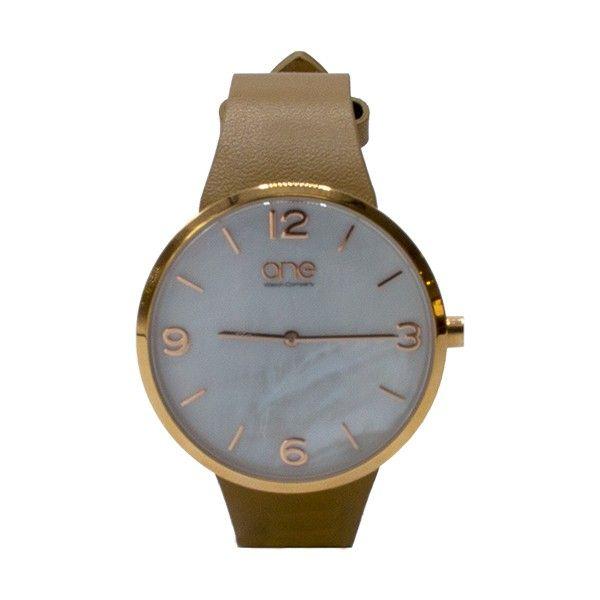 Relógio ONE Retro Bege OL7729BC81L