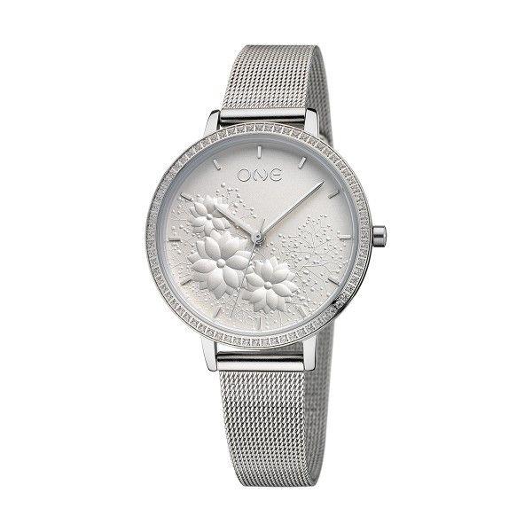 Relógio ONE Lightness Prateado OL1223BS91W
