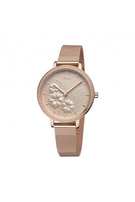 Relógio ONE Lightness Ouro Rosa