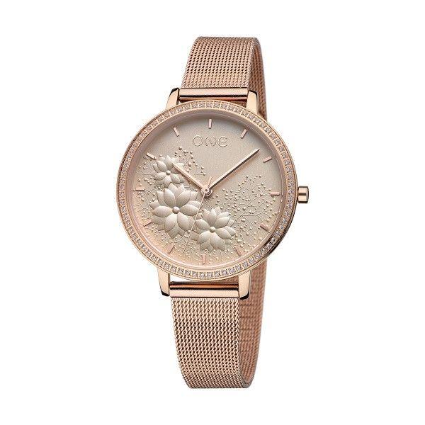 Relógio ONE Lightness Ouro Rosa OL1223BR91W