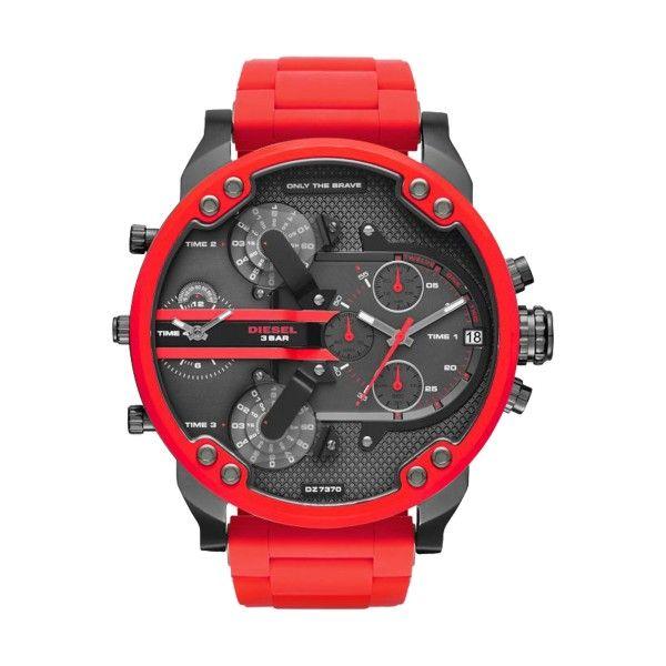 Relógio DIESEL The Daddies Series Vermelho DZ7370