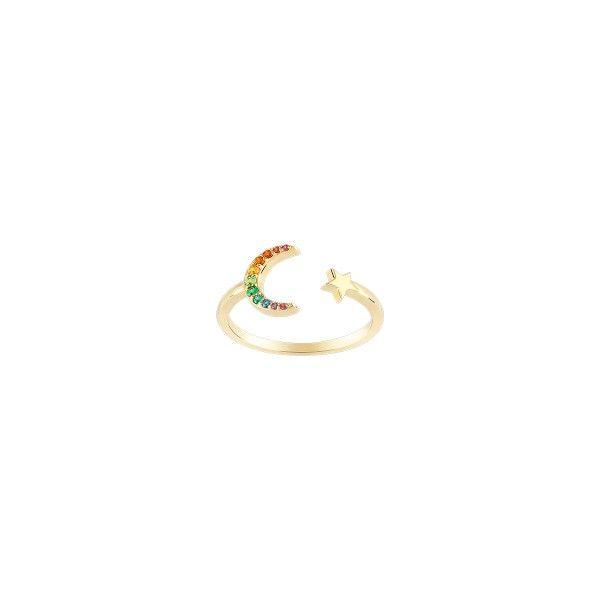 Anel UNIKE JEWELLERY Rainbow UK.AN.1204.0243