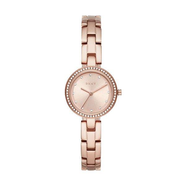 Relógio DKNY City Link Ouro Rosa NY2826