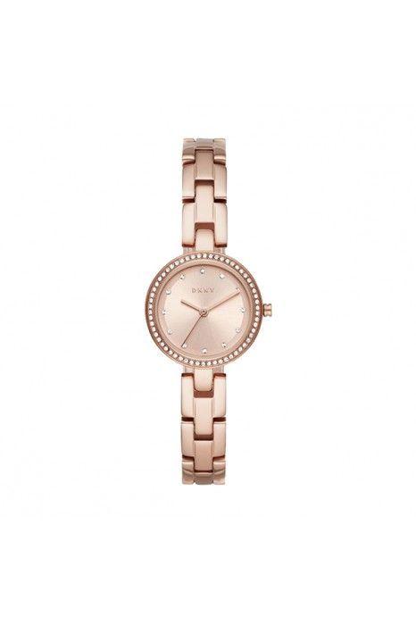 Relógio DKNY City Link Ouro Rosa