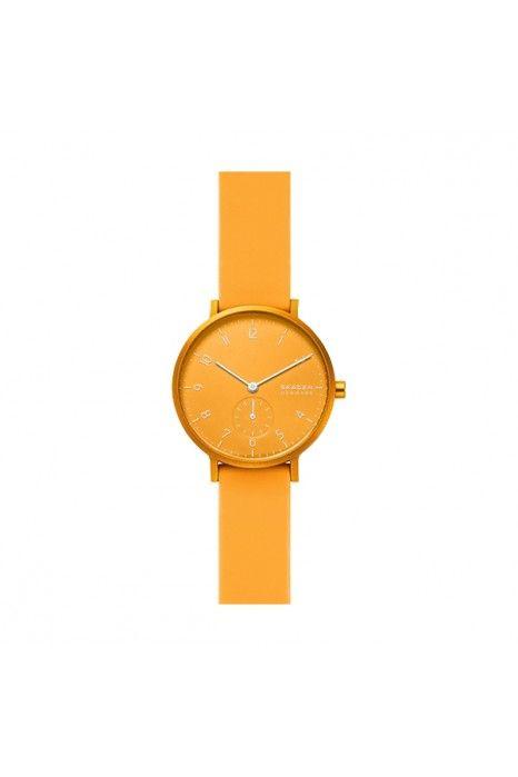 Relógio SKAGEN Aaren Amarelo