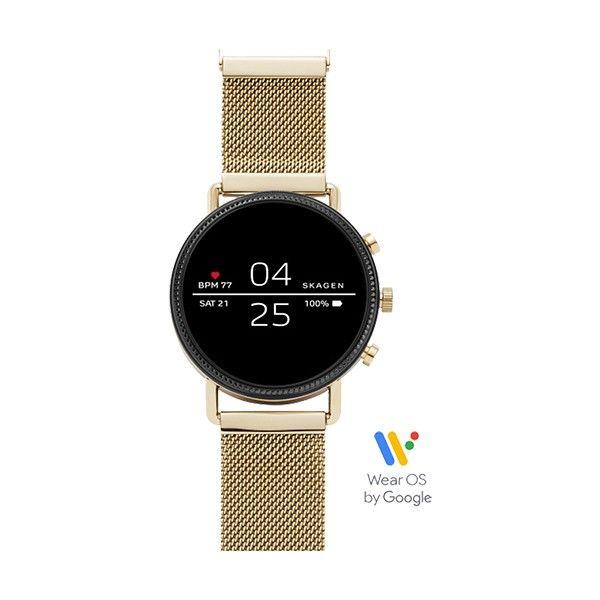 Relógio Inteligente SKAGEN Falster 2 Dourado (Smartwatch) SKT5111