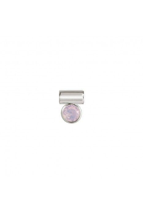Pendente NOMINATION Seimia, Prata 925, Pedra rosa