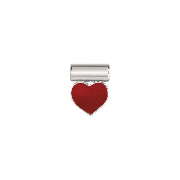 Pendente NOMINATION Seimia, Prata 925, Coração vermelho 147118-003