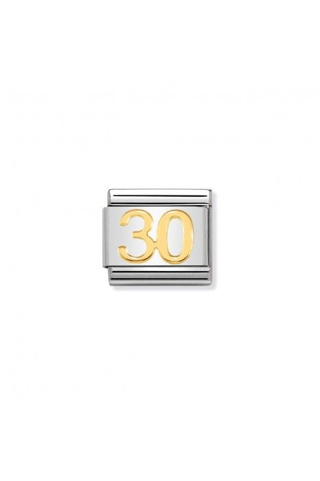 Charm Link NOMINATION, Ouro 18K, Nº30