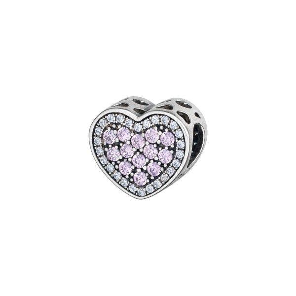 Conta SILVERADO Sparkling Heart PB10497