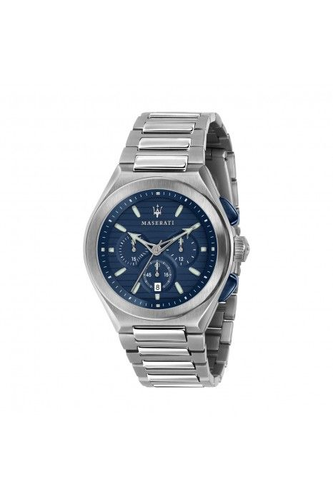 Relógio MASERATI Triconic Azul