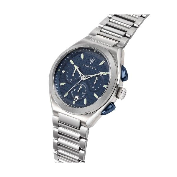 Relógio MASERATI Triconic Azul R8873639001