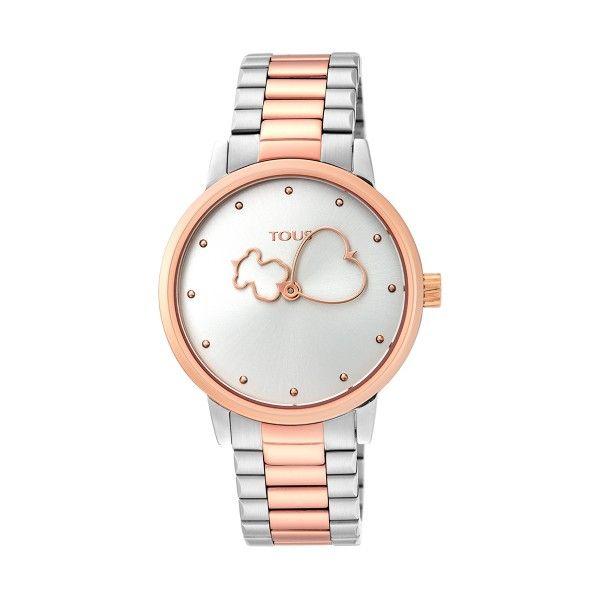 Relógio TOUS Bear Time Bicolor Ouro Rosa 900350315