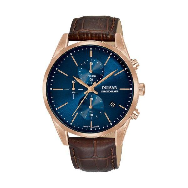 Relógio PULSAR Casual Castanho PM3140X1