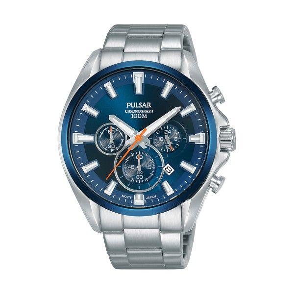 Relógio PULSAR Active Prateado PT3A23X1