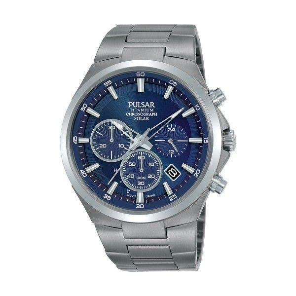 Relógio PULSAR Active Prateado PZ5095X1