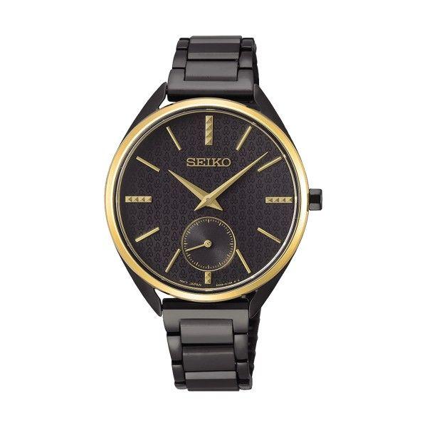 Relógio SEIKO 50º Aniv Dourado SRKZ49P1