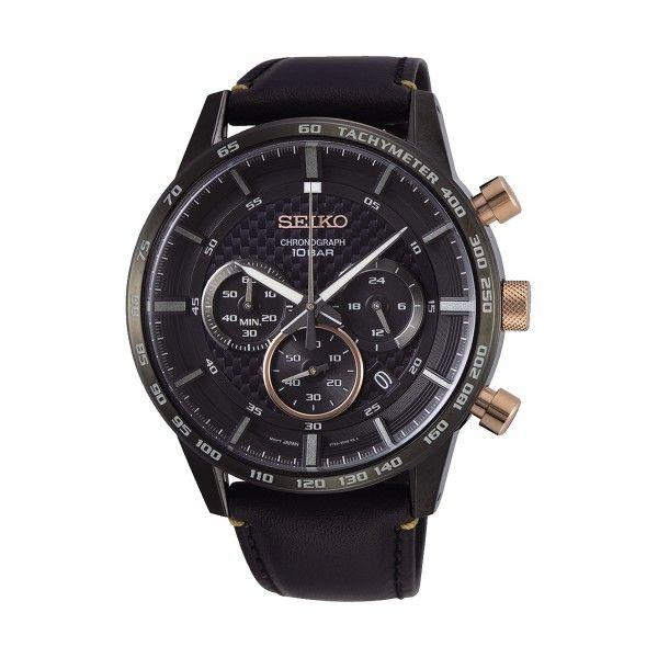 Relógio SEIKO Neo Sports Preto SSB361P1