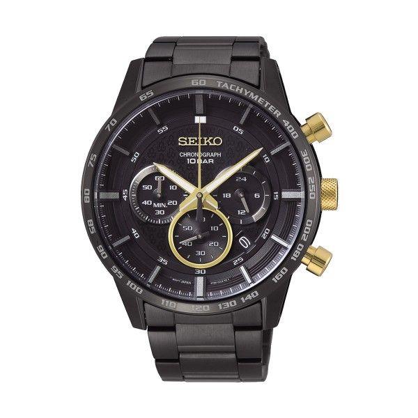 Relógio SEIKO 50º Aniv Preto SSB363P1EST