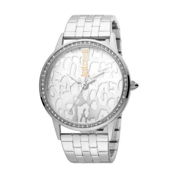 Relógio JUST CAVALLI TIME JC Print XL Prateado JC1L094M0045