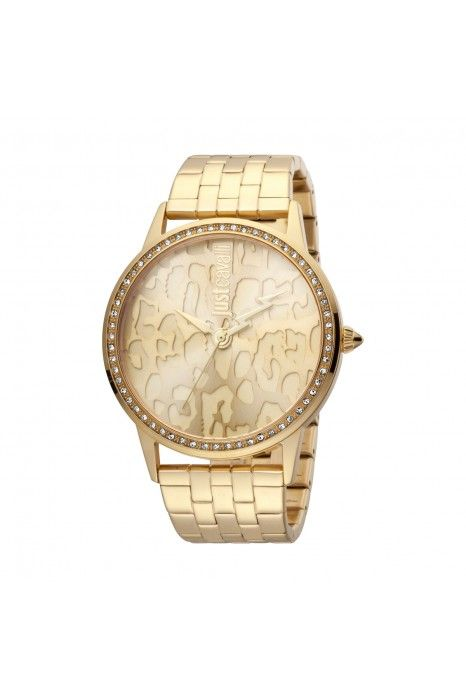 Relógio JUST CAVALLI TIME JC Print XL Dourado