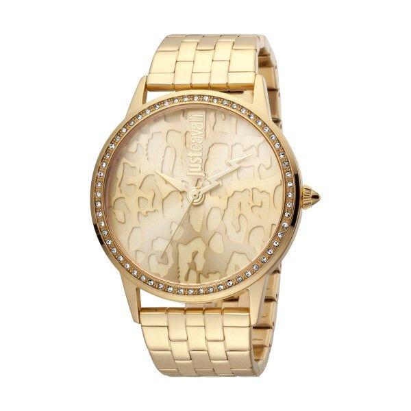 Relógio JUST CAVALLI TIME JC Print XL Dourado JC1L094M0055