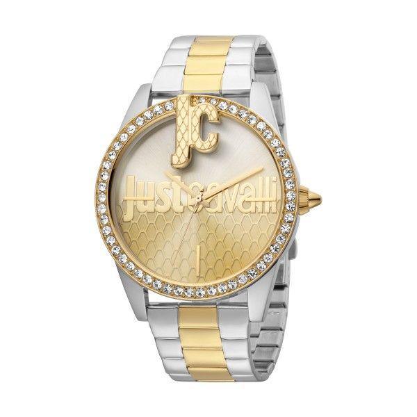 Relógio JUST CAVALLI TIME JC XL Bicolor Dourado JC1L100M0105